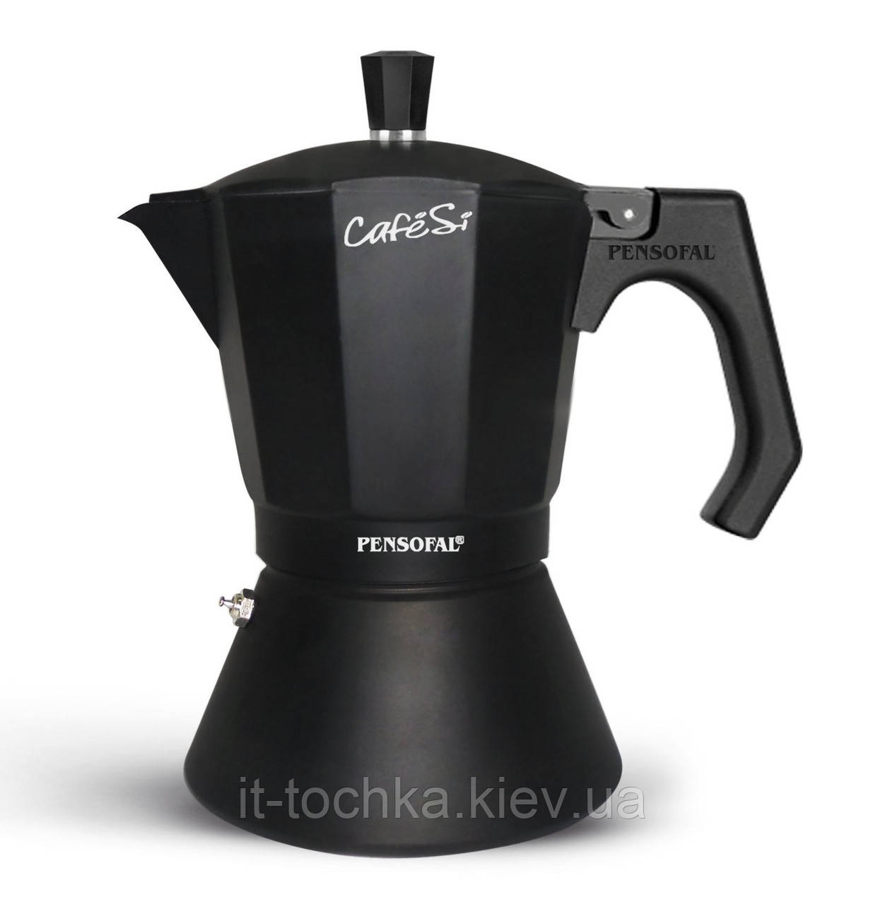Кофеварка гейзерная pensofal pen8406 espresso coffee maker 6 cup