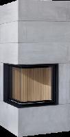 Теплоаккумулирующий камин Brunner BSK 08 Compact 51/67 side-opening door