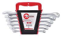 Набор ключей рожк-накид Intertool 6 шт. 8-17мм (HT-1201)