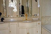 Мраморный умывальник, мойдодыр из мрамора, столешница в ванную комнату