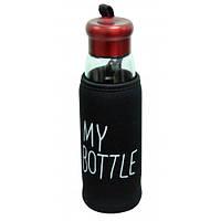 """Термобутылка в чехле с заварником """"My bottle"""" в асс."""