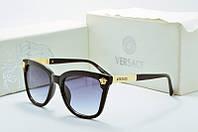 Солнцезащитные очки Versace квадратные черные