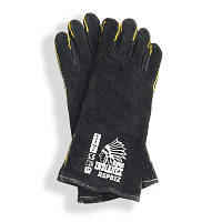 Защитные перчатки (Краги) REIS черные