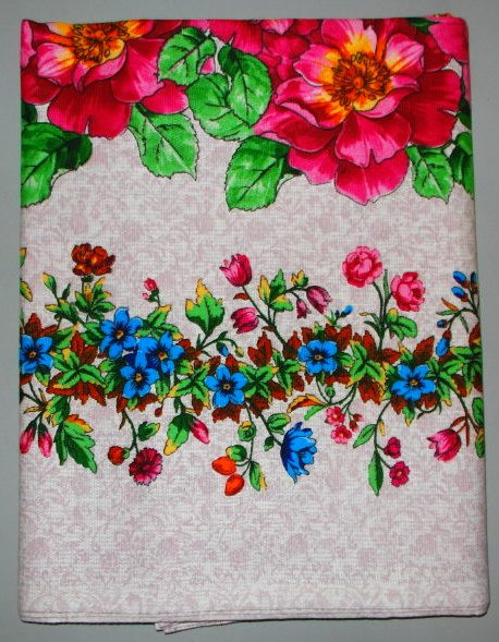 Льняная скатерть  120 x 150 размер