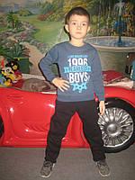 Детский теплый спортивный костюм для мальчика