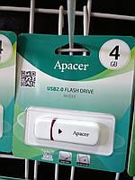 Флешка USB Flash 4 GB Apacer AH333 Black
