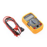 Мультиметр UK 830LN: омметр/амперметр/вольтметр, 3+8 гнезд, LED подсветка, 110х65х30 мм