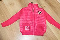 Качественная детская кофта розового цвета