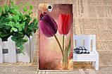 Чехол силиконовый бампер для Sony Xperia Z c6603 c6602 L36h с картинкой розы на белом фоне, фото 5