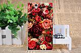 Чехол силиконовый бампер для Sony Xperia Z c6603 c6602 L36h с картинкой розы на белом фоне, фото 8