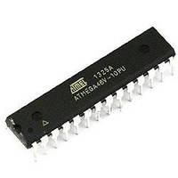 ATMEGA48V-10PU, Микроконтроллер 8-Бит, AVR, 10МГц, 4КБ Flash, DIP28