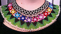 Кольорове намисто (Ожерелье с цветами  ) AN-0088