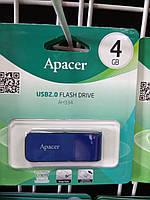 Флешка USB Flash 4 GB Apacer AH334 Blue