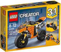 LEGO® Creator ОРАНЖЕВЫЙ МОТОЦИКЛ 31059