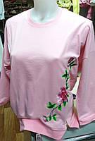 Женская толстовка розового цвета