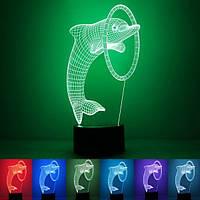 Настольный светодиодный 3D-светильник