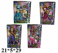 Кукла DH013B MONSTER HIGH, 4 вида