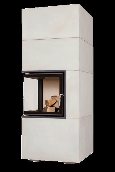 Теплоакумулюючий камін Brunner BSK 09 Eck-Kamin 42/42/42 side-opening door lower