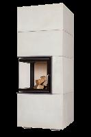 Теплоаккумулирующий камин Brunner BSK 09 Eck-Kamin 42/42/42 side-opening door lower