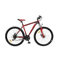 """Велосипед 29"""" Formula ATLANT AM 14G  DD   St  чёрно-красный  2016"""