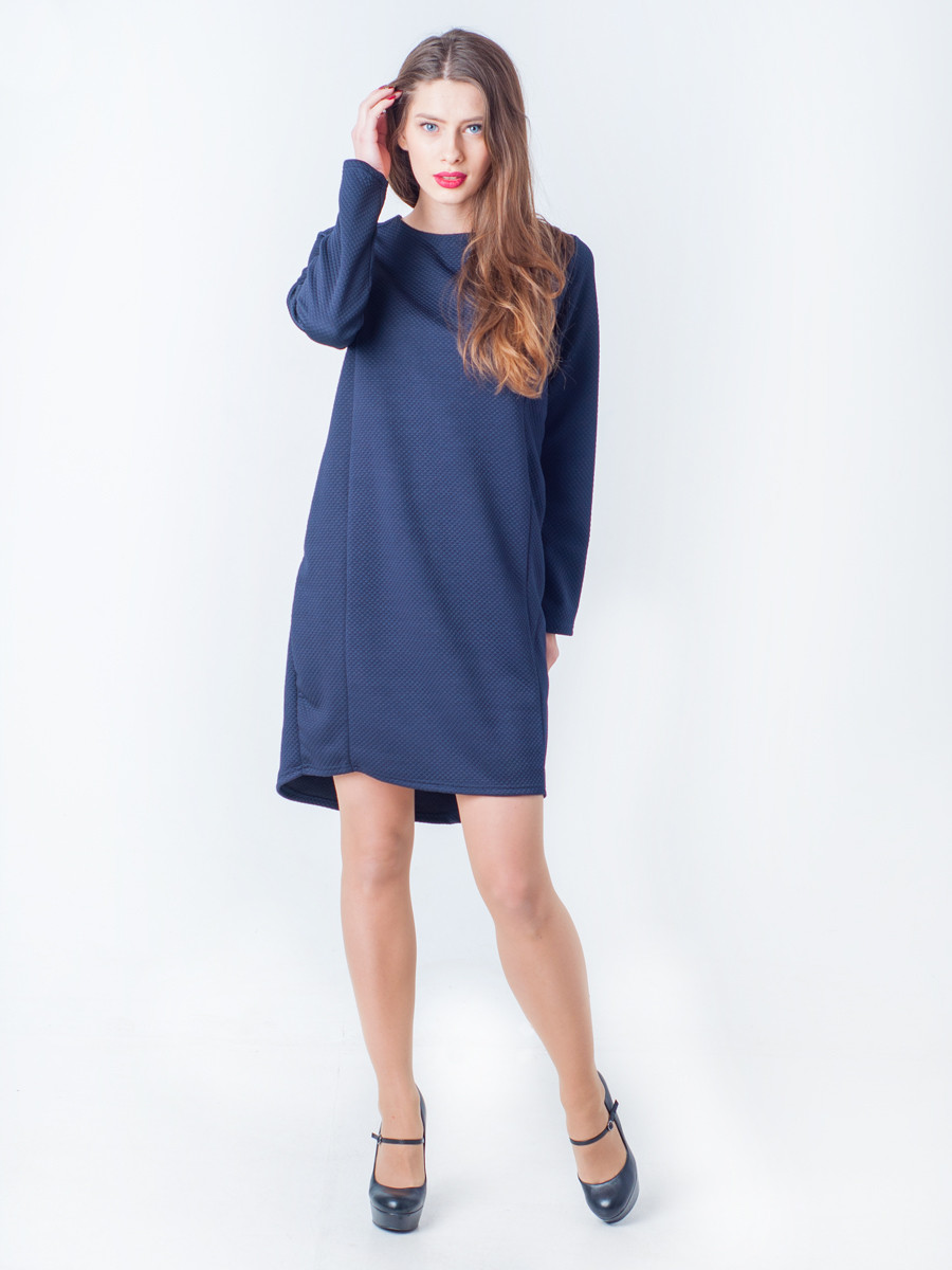 Стильное теплое платье Синди - MIZZ в Хмельницком
