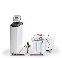 Готовое решение для очистки воды в доме с 1 санузлом и низким водопотреблением