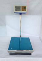 Весы торговые электронные до 300 кг, стойка с двусторонним табло, 3 LED-индикатора, подсветка, 220 В