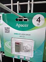 Флешка USB Flash 4GB Apacer AH112 red