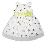 """Нарядное платье для девочки """"Полет ласточки"""" Garden Baby."""