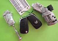 Citroen - remote key комплект замков и ключей 3 кнопки, ОРИГИНАЛ