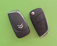 Citroen - remote key, 3 кнопки ОРИГИНАЛ