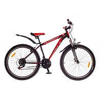 "Велосипед 26"" Formula DYNAMITE AM 14G  Vbr  рама-19"" St ST-EF51 черно-красный (м)  2016"