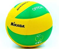 Мяч волейбол PU MIK VB-5940 MVA-200CEV (PU, №5, 3 слоя, клееный)