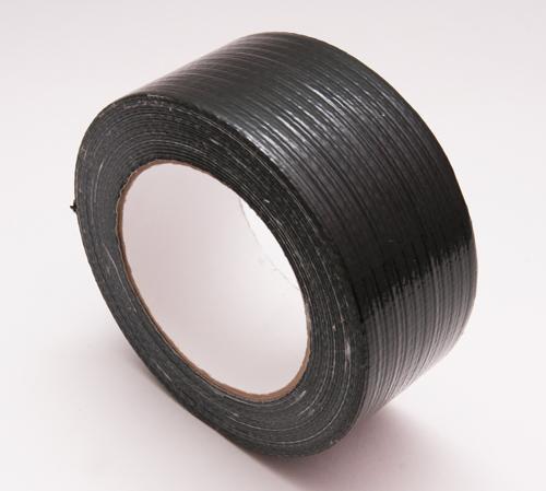 Скотч универсальный армированный РЕ 50х25 ( чёрный)