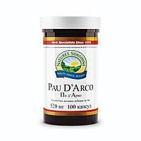 Бад NSP Pau D`Arco По Д'Арко НСП 100 капсул по 520 мг