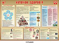 """Информационный стенд """"Комплексный уголок здоровья"""""""