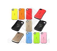 Защитный чехол iFace для мобильных телефонов Apple iPhone 4, iPhone 4S, черный, ударопрочный