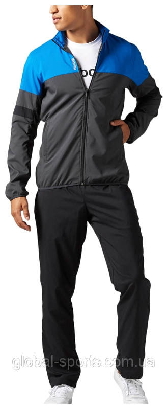 Мужской спортивный костюм Reebok EL TS WOVEN (Артикул  BK6521) - Global  Sport в b0457bc032b