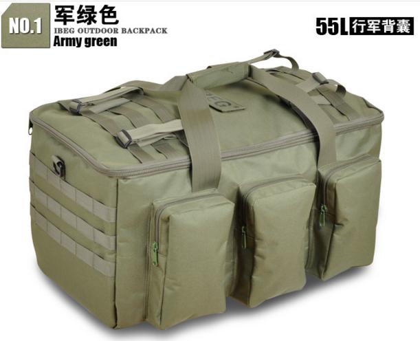 Рюкзак-сумка,тактическая IBEG(55л) А8