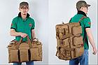 Рюкзак-сумка,тактическая IBEG(55л) А8, фото 3