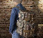 Рюкзак-сумка,тактическая IBEG(55л) А8, фото 4