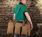 Рюкзак-сумка,тактическая IBEG(55л) А8, фото 5