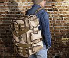 Рюкзак-сумка,тактическая IBEG(55л) А8, фото 6