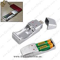 "USB зарядка для аккумуляторов - ""USB Charger"""
