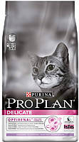 Сухой корм для кошек Purina Pro Plan Adult Delicate Sensitive Turkey (индейка) 1,5КГ