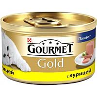 Консервы Purina для кошек GOURMET GOLD (Гурмет Голд) паштет с курицей, 85 гр