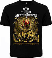 Рок футболка Five Finger Death Punch. War is the answer