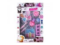 Детский набор декоративной косметики тени лак маник. набор