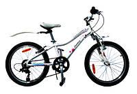 "Велосипед Cyclone 20"" FANTASY 11"" белый"