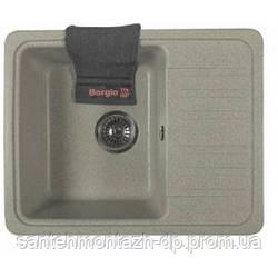 Мойка Borgio PRC-570/460, гранитная, Серый